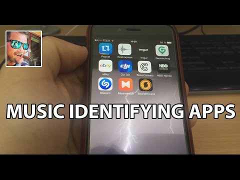 Music Identifying Apps [SHAZAM] [MUSIXMATCH] [SOUNDHOUND] // English
