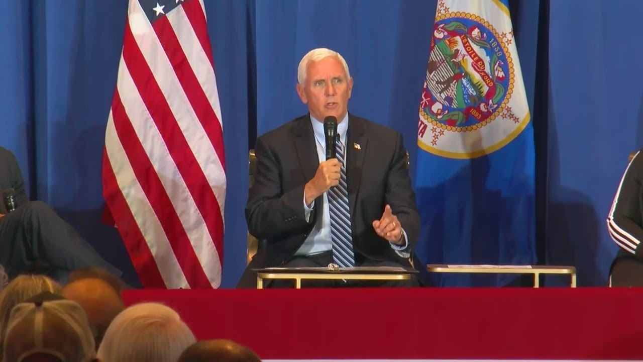 VP Mike Pence To Campaign In Minnesota On Monday After All