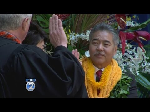 David Ige sworn in as Hawaii