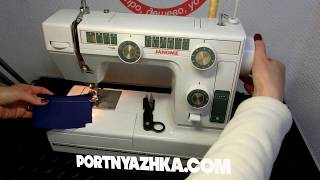 Обзор швейной машины Janome L-394 /Janome LE 22