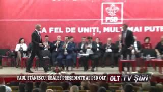 PAUL STANESCU REALES PRESEDINTE AL PSD OLT 2909