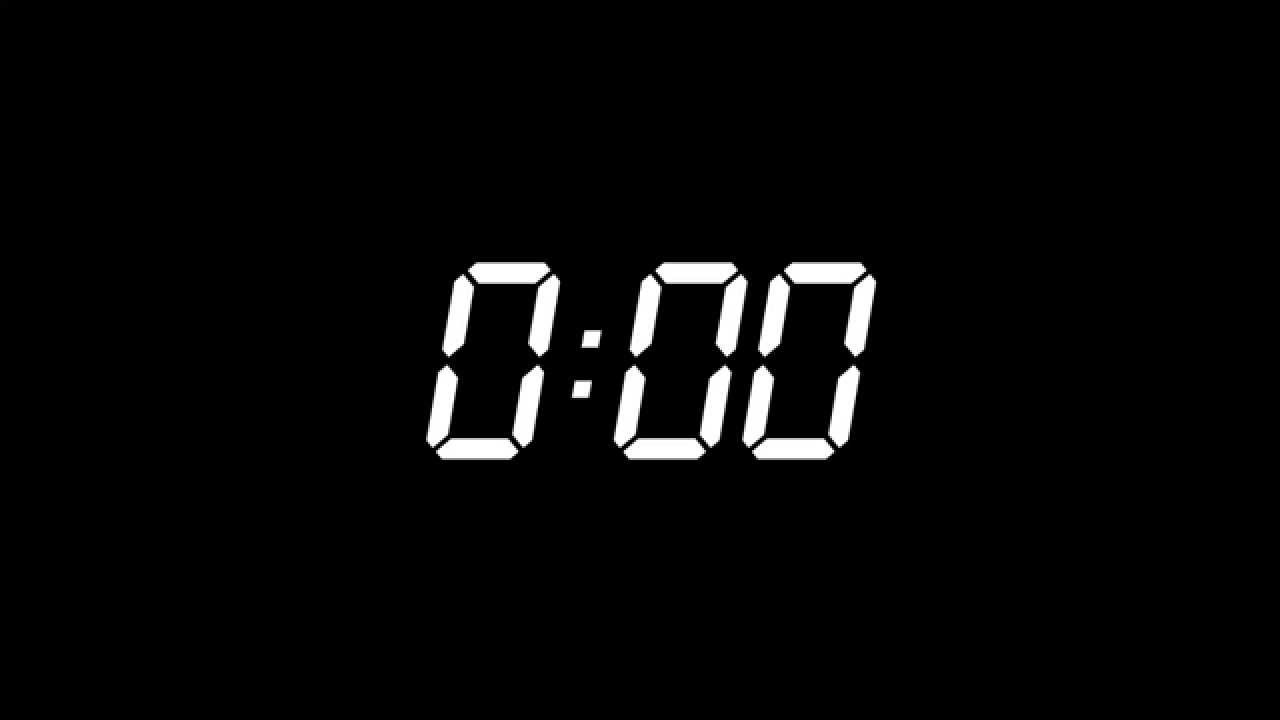 1 minute timer with music
