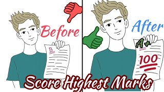 4 Special Tips To Score Highest Marks in Exam -|Hindi| Study and Exam Tips