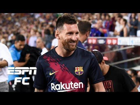 Should Barcelona risk starting Lionel Messi vs. Borussia Dortmund? | UEFA Champions League