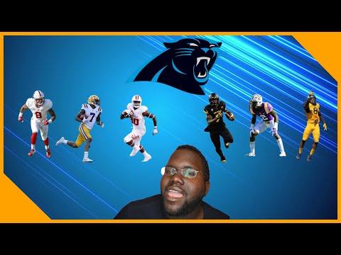 LCameraTV Final Carolina Panthers Mock Draft 7 Rounds