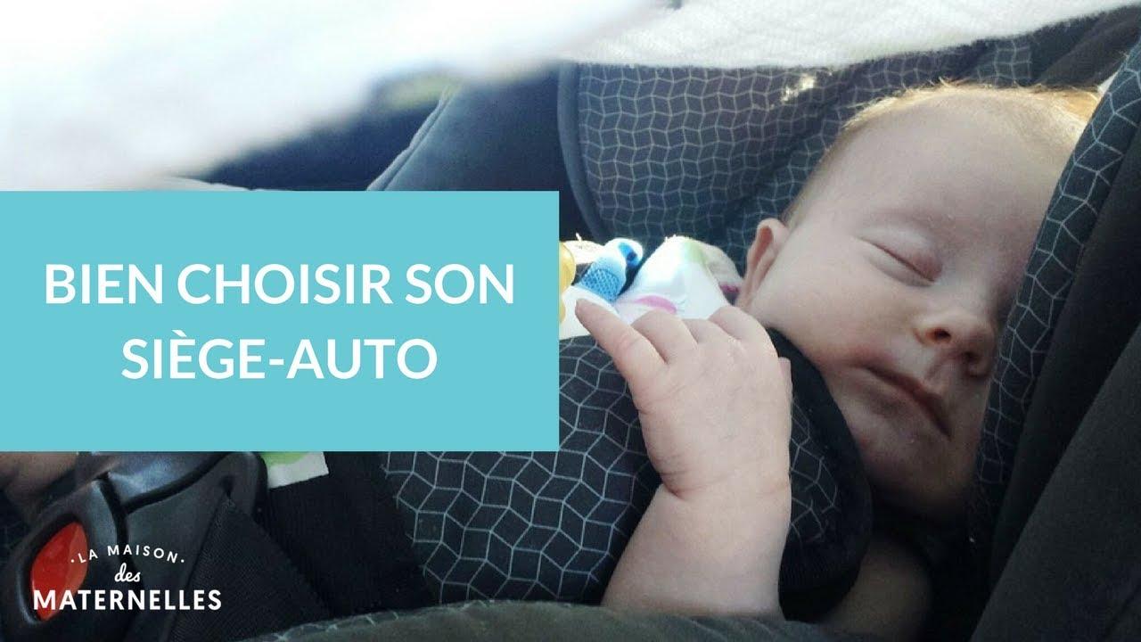 comment choisir son siège auto bébé