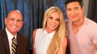 Britney Spears Talks About the Slumber Party Music Video in New EXTRA Interview