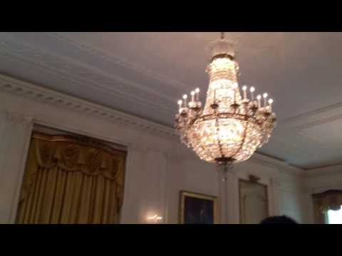 A tour through The White House