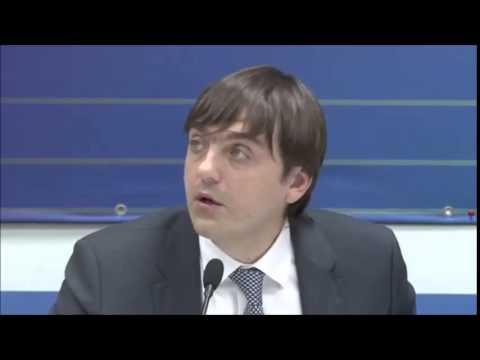 С.С.Кравцов, руководитель Федеральной службы по надзору в сфере образования и науки
