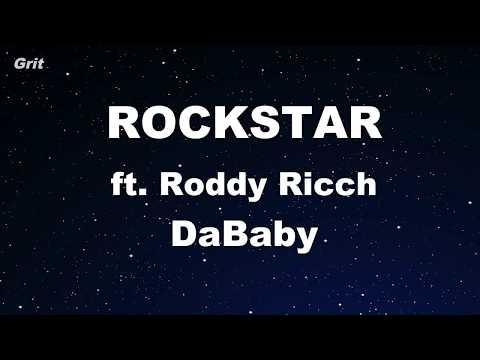 Karaoke♬ ROCKSTAR ft. Roddy Ricch – DaBaby 【No Guide Melody】 Instrumental