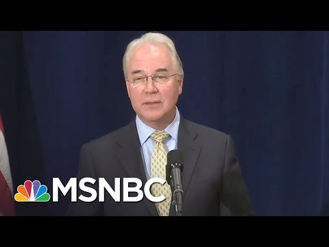 Donald Trump Cabinet Member Tom Price Under Fire For Using Charter Jets | All In | MSNBC