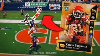 WE GOT GOLDEN TICKET KELVIN BENJAMIN AND YOU WON'T BELIEVE WHAT HE CAN DO..