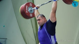 2018 Russia Weightlifting Championships. men +105 kg \ Чемпионат России мужчины +105 кг