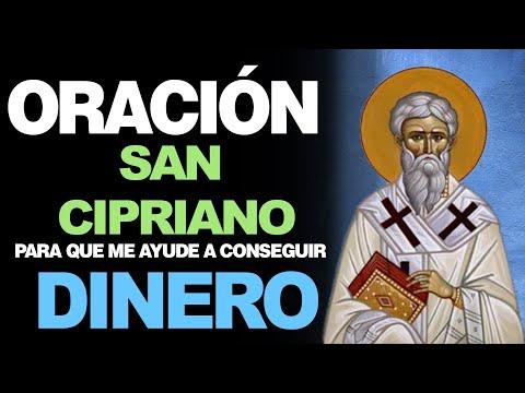 🙏 La Oración de San Cipriano para CONSEGUIR DINERO DE MANERA EFECTIVA 💵