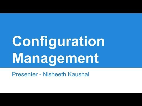 Configuration Management in hindi and english