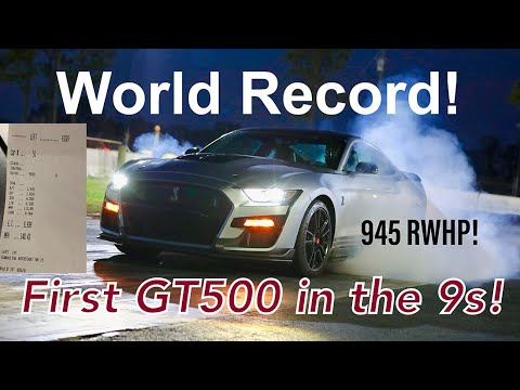 This Ford Mustang Shelby GT500 Is Tuned to 945 HP