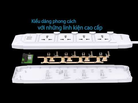 Huntkey Power Strip Video Vietnamese