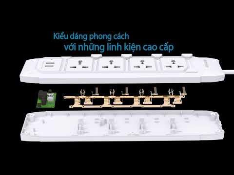Huntkey Power Strip Video Vietnamese