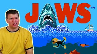 JAWS NES Video Game Review S1E06 | The Irate Gamer
