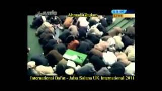 International Bai'at 2011 - Jalsa Salana International UK 2011 - Islam Ahmadiyya - ©AhmadiGhulam