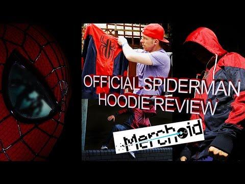 Official Spider-Man Merchandise | Merchoid Premium Hoodie Review