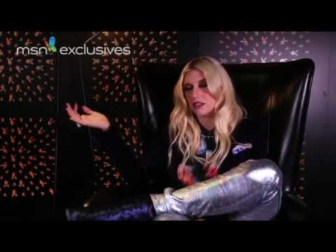 Ke$ha Talks Ghost Sex - MSN