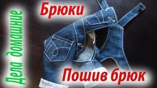 Брюки для собаки.Рекомендации по пошиву брюк.