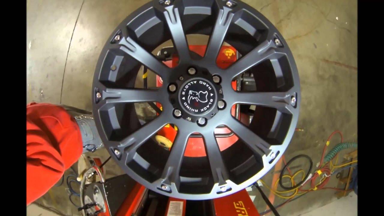 Jeep Wrangler Rhino >> Black Rhino Wheels Side Winder Black - YouTube