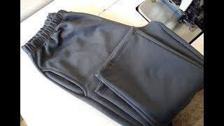 How to sew trousers. Overlock machine. Jak zeszyc spodnie dresowe na owerloku