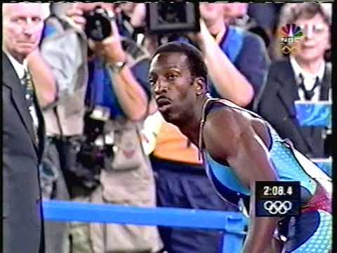 Men's 4x400 Relay Finals - 2000 Sydney Olympics Track & Field