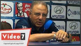 طلعت يوسف: أهدرنا 3 أهداف أمام الزمالك .. والمهاجمين خارج نطاق الخدمة