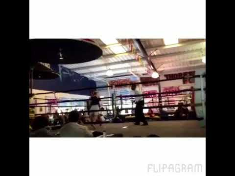 1st amateur Fight (highlights)
