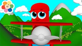 Learn Colors for Children with Magical Airplanes   Kids Learning with Color Crew Babies 3D Animation