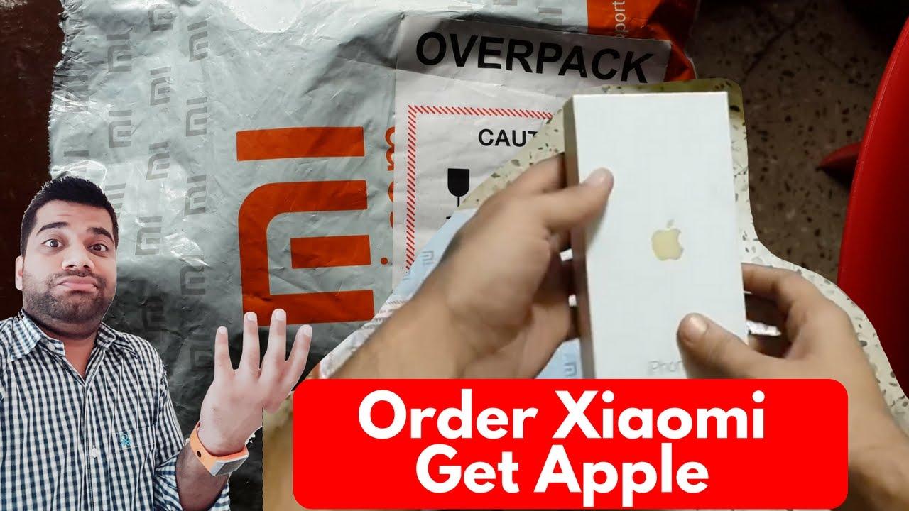 Order Xiaomi Get Apple | Online Scam/Mistake??