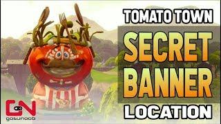 Fortnite Tomato Town Secret Banner Week 8 Season 5 Roadtrip Challenge