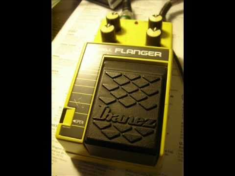 Ibanez DF-10 Swell Flanger Pedal Demo