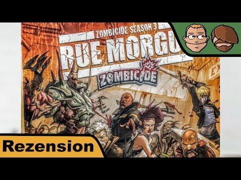 Zombicide Season 3: Rue Morgue - Brettspiel - Review