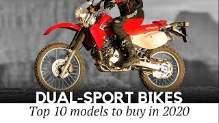 10 Best Dual-Sport Motorbikes for Off-Road Riding and Everyday Commutes