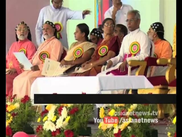Baselios Mar Cleemis Catholica Bava speaks on religious responsibilities in Thiruvalla
