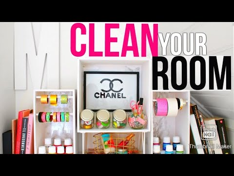 Cleaning your Room DIYs Tips/ Faster
