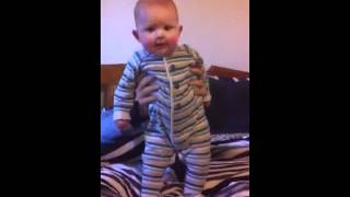 Teach Me How To Dougie - 7 Month Old Baby