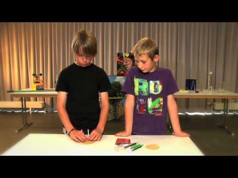 Chromatographie: Trenne Die Farbstoffe Eines Stiftes Voneinander