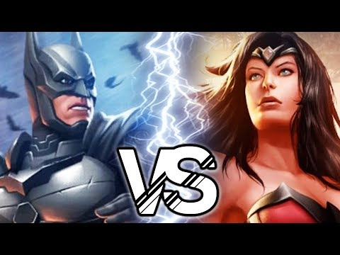 Injustice 2 - Batman VS Wonder Woman Battle
