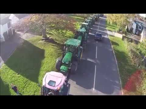 Hertfordshire Young Farmers Tractor Run 2014