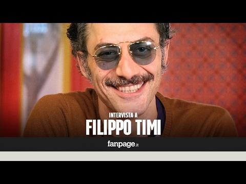 """Filippo Timi: """"A 42 anni ho capito che la vita è troppo importante"""""""