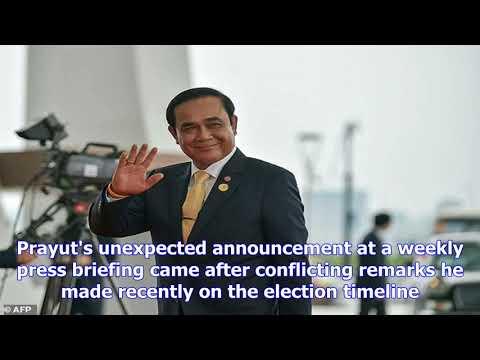 Thailand junta confirms elections for 2018