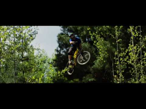Mike Hopkins - a day in the life of - a downhill mountain biking video