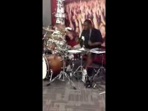 Michael Hampton - Drum Solo