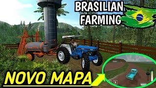 BRASIL FARMING SIMULATOR- APRESENTANDO O NOVO MAPA #Quarentenagames