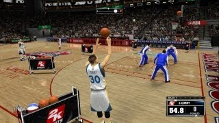 NBA 2K14 All Star Three Point Contest! ft Steph Curry, James Harden, Klay Thompson
